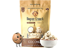 Dogsee Crunch Freeze Dried COCONUT Dog Treats-Dogsee Chew-XOXOtails