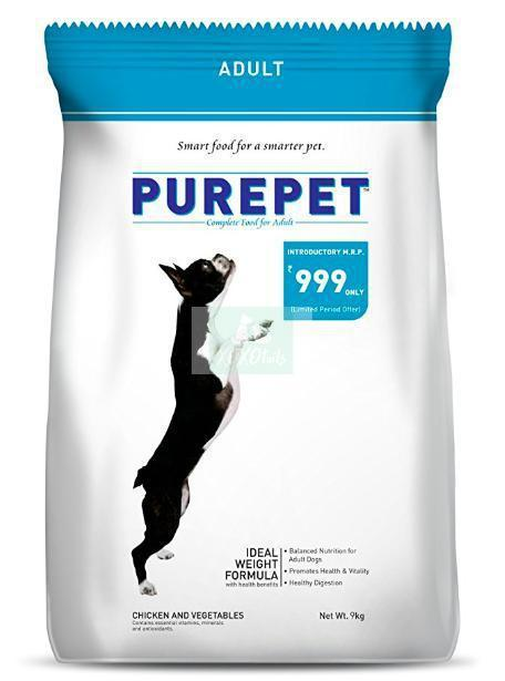 Purepet Adult Dog Dry Food, Chicken and Vegetable-Purepet-XOXOtails