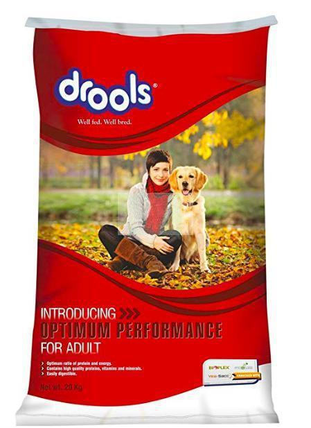 Drools Optimum Performance Adult Dog Dry Food, 20kg-Drools-XOXOtails