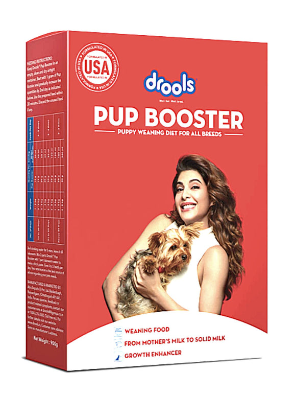 Drools PUP Booster - Puppy Weaning Diet for All Breeds, 900 Gram-Drools-XOXOtails