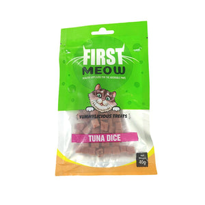 First Meow Tuna Dice 40G-First Meow-XOXOtails