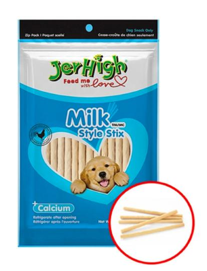 Jerhigh MILK STIX Dog Treat 100 G-Jerhigh-XOXOtails