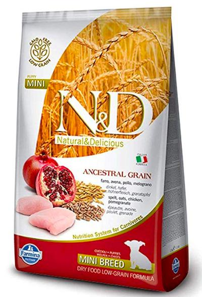 Farmina N&D LOW GRAIN CHICKEN & POMEGRANATE PUPPY MINI Dog Dry Food-Farmina-XOXOtails