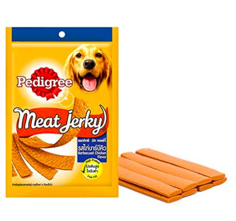 Pedigree Meat Jerky BARBECUED CHICKEN, 80 G-Pedigree-XOXOtails