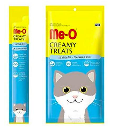 Me-O Creamy Cat Treats, Chicken & Liver-Me-O-XOXOtails