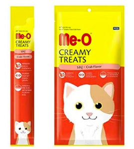 Me-O Creamy Cat Treats, Crab-XOXOtails-XOXOtails
