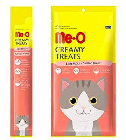 Me-O Creamy Cat Treats, Salmon-Me-O-XOXOtails