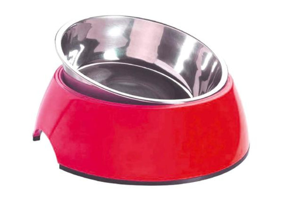 Standard Melamine & Stainless Steel SANDY Bowl-Smarty Pet-XOXOtails