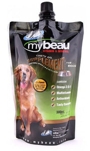 MyBeau Tasty Oil Supplement For Dog, 1.5 Litre-My Beau-XOXOtails