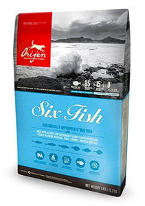 Orijen SIX Fish Dog Dry Food-Orijen-XOXOtails