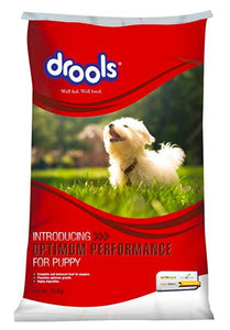 Drools Optimum Performance Puppy Dog Dry Food, 20 kg-Drools-XOXOtails