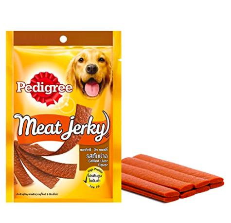 Pedigree Meat Jerky GRILLED LIVER, 80 G-Pedigree-XOXOtails