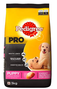 Pedigree PRO PUPPY LARGE BREED (3-18 Months) Dog Dry Food-Pedigree-XOXOtails