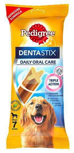 Pedigree DENTASTIX for Adult LARGE Breed Dogs 270 G (7 Sticks)-Pedigree-XOXOtails
