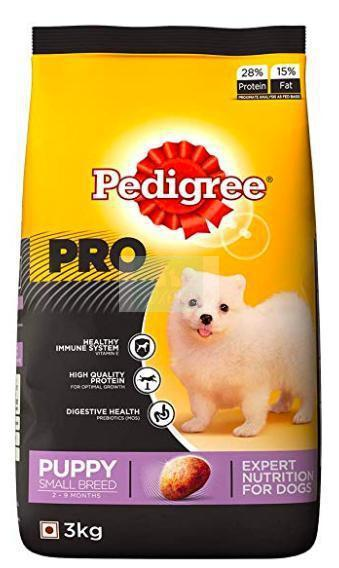 Pedigree PRO PUPPY SMALL BREED (2-9 Months) Dog Dry Food-Pedigree-XOXOtails
