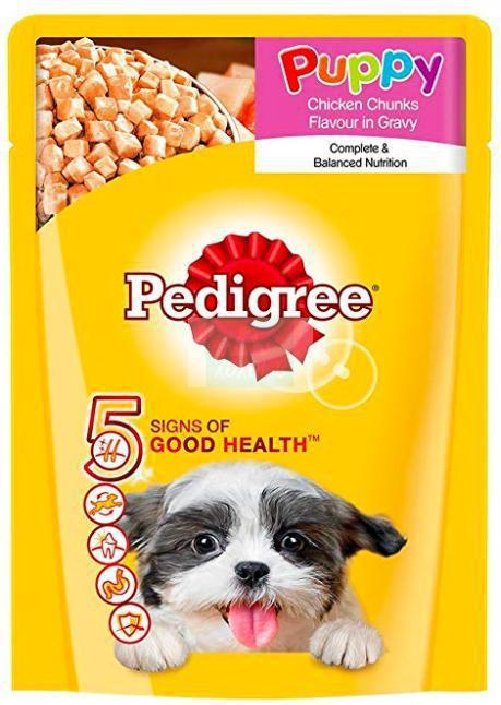 Pedigree PUPPY CHICKEN Chunks in Gravy, 70 G-Pedigree-XOXOtails