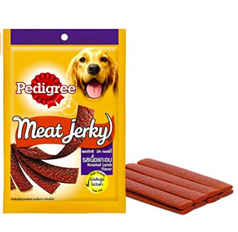 Pedigree Meat Jerky ROASTED LAMB, 80 G-Pedigree-XOXOtails
