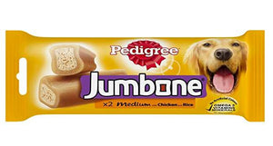 Pedigree JUMBONE CHICKEN & RICE Dog Treat, 200 G-Pedigree-XOXOtails
