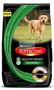 Purina Supercoat Adult Healthy Weight Dog Dry Food 3KG-Purina-XOXOtails