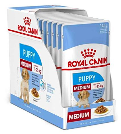 Royal Canin Medium Puppy Gravy, 140G-Royal Canin-XOXOtails