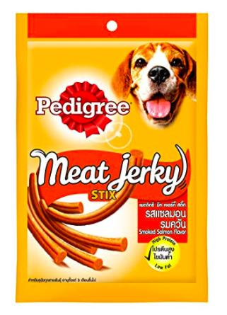 Pedigree Meat Jerky STIX SMOKED SALMON, 60 G-Pedigree-XOXOtails