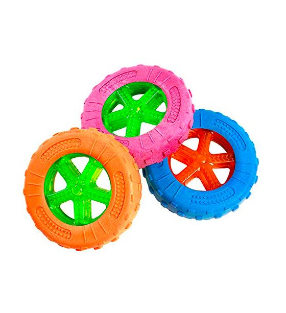 Smarty Pet Rubber TPR Wheel Toy