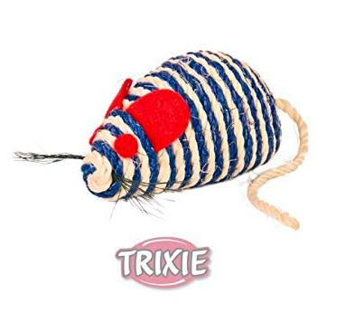Trixie Sisal Mouse Cat Toy 10 cm-XOXOtails