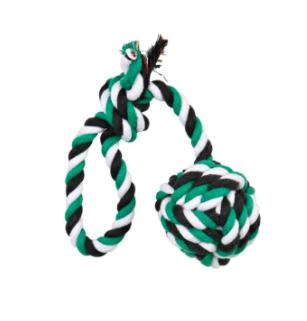 Trixie Playing Rope with Woven-in-Ball 50 CM-Trixie-XOXOtails