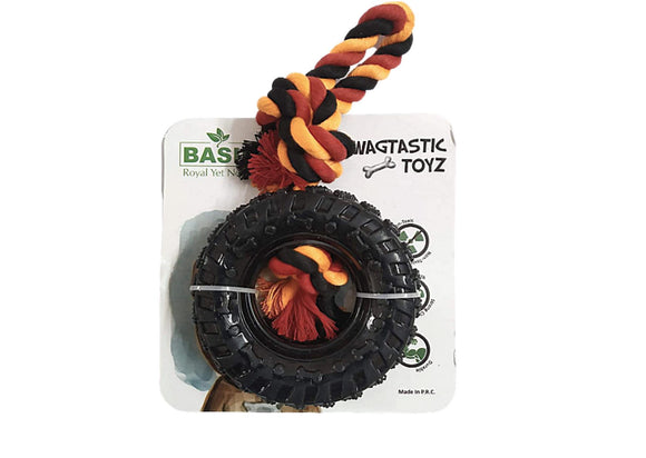 Basil Tyre and Play Rope Toy