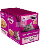 Whiskas ADULT Gravy, SALMON IN GRAVY 85 G-Whiskas-XOXOtails