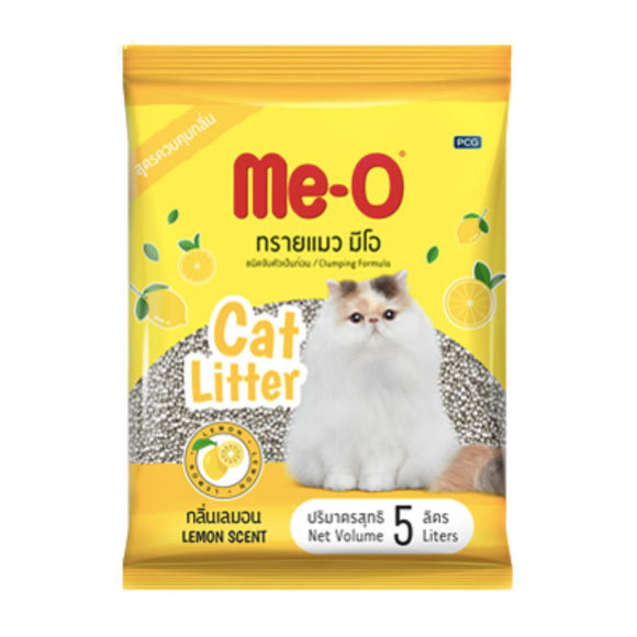 Me-O Cat Litter Lemon Flavour 5 L-XOXOtails