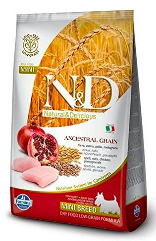 Farmina N&D LOW GRAIN CHICKEN & POMEGRANATE ADULT MINI Dog Dry Food-Farmina-XOXOtails