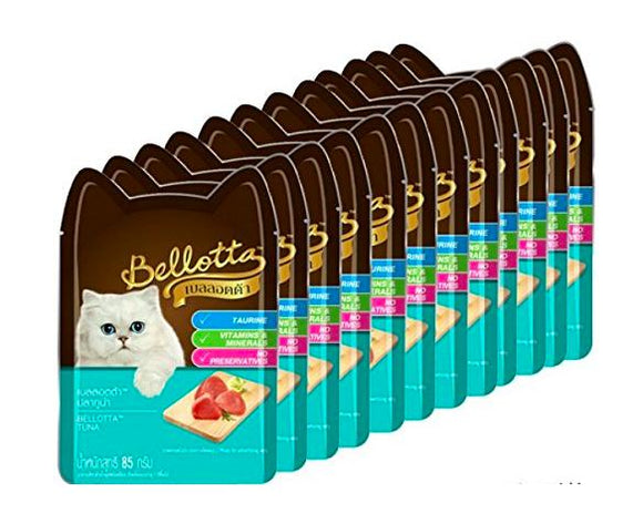 Bellotta Wet Food for Cats and Kittens, Tuna, 85 g-Bellota-XOXOtails