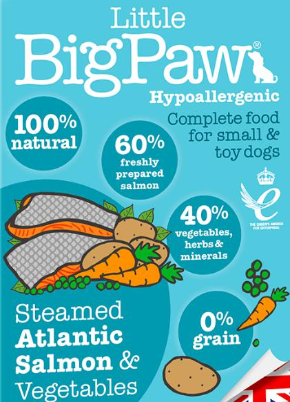 Little Big Paw's Steamed Atlantic Salmon & Vegetable Terrine, 150 G-Liittle Big Paw-XOXOtails