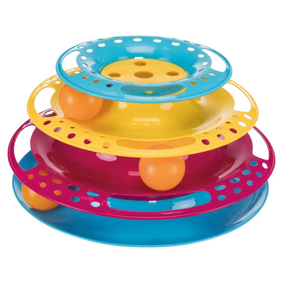 Trixie Cat Toy Circle Tower Catch The Balls-XOXOtails