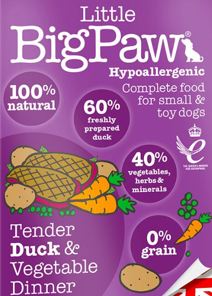 Little Big Paw's Tender Duck & Vegetable Dinner, 150 G-Liittle Big Paw-XOXOtails