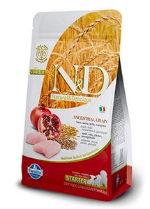 Farmina N&D LOW GRAIN CHICKEN & POMEGRANATE STARTER PUPPY Dog Dry Food-Farmina-XOXOtails