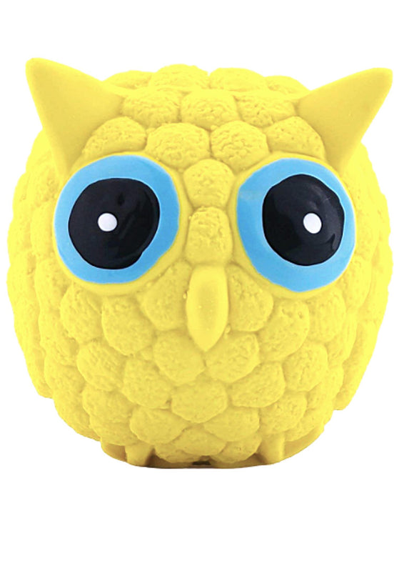 EETOYS Yellow Owl Squeaky Toy for Puppy and Cat-EETOYS-XOXOtails