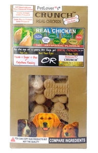Petlover'S Crunch Real Chicken Dog Biscuit Treat-XOXOtails