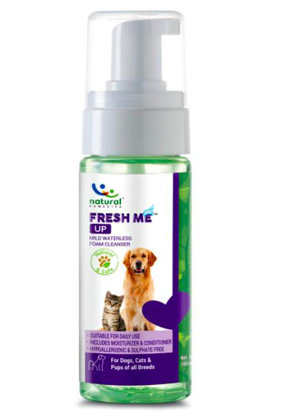 Natural Remedies Fresh Me Up Dry Shampoo for Dogs & Cats 140 ML-XOXOtails