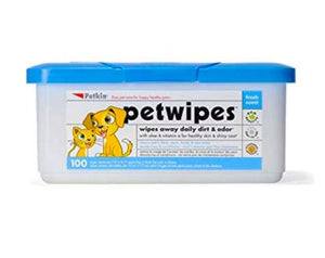 Petkin Pet Wipes for Dogs & Cats 100 PCS-Petkin-XOXOtails