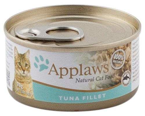 Applaws Natural Cat Tuna Fillet Canned Food