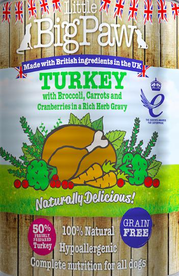 Little Big Paw's Turkey with Broccoli, 390 G-Liittle Big Paw-XOXOtails