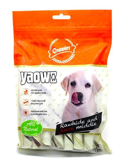 Gnawlers Stick Roll YAOWO Dog Treat, 2.5 Inch-Gnawlers-XOXOtails