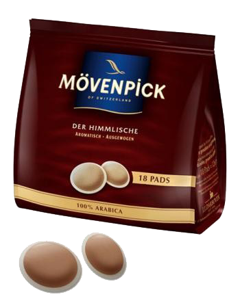 Movenpick Cafe Creme 16 soft coffee pads