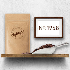 Eighty9 Coffee No. 1958 El Salvador - 250g