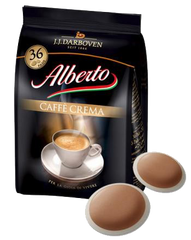 Alberto Cafe Cremé 36 soft coffee pads