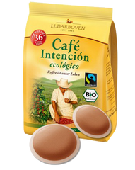 Cafe Intención 36 soft coffee pads