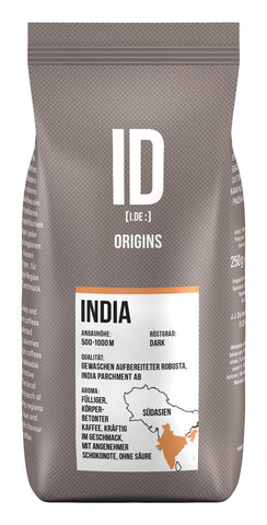 ID Origins India 250g coffee beans