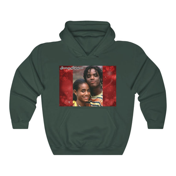 Land of Nostalgia Jada & Larenz Vintage Unisex Heavy Blend™ Hooded Sweatshirt